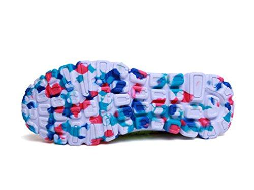 Respirant Tisser Décontractée Des Bleu Élastique Sneaker Anguang Sandales Chaussures Sport Sur Glisser Femme Appartements 1ZqEwvx