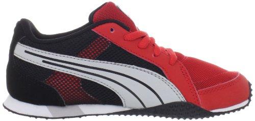Puma H-Mesh Fashion Sneaker (Toddler/Little Kid/Big Kid) High Risk Red/Gray Violet/Black
