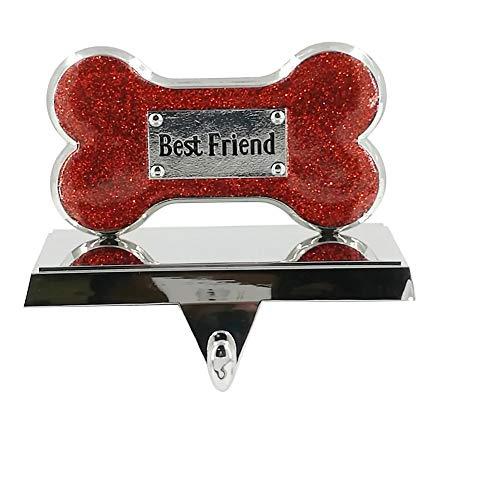 St. Nicholas Square Best Friend Dog Bone Christmas Stocking Holder -