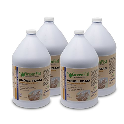 GreenFist Hand Wash Soap Refill Angel 4 Gallons (4x1) (Foam Refill 4 ()