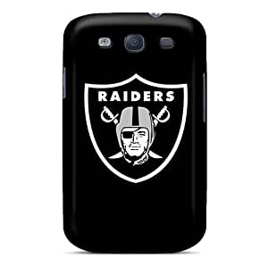 Excellent Galaxy S3 Case Tpu Cover Back Skin Protector Oakland Raiders 2