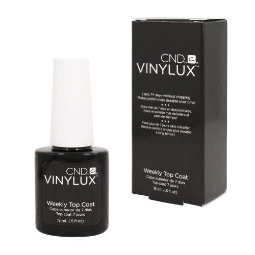 CND - VINYLUX TOP COAT hebdomadaire Creative Nail Polish Conception Manucure Laque 0,5 oz