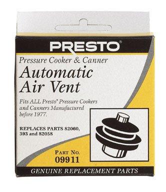 (Presto Pressure Cooker Automatic Air Vent)