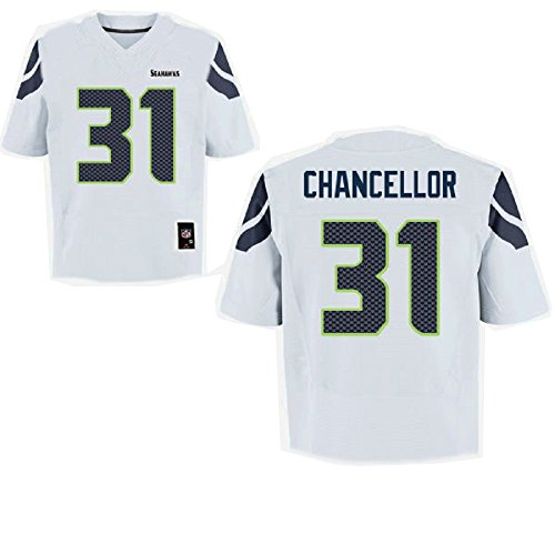 Kam Chancellor Youth White Jersey