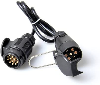 Anhänger Adapter Kabel 13 Auf 7 Polig Adapterkabel 80cm Kabel Von The Drive Auto