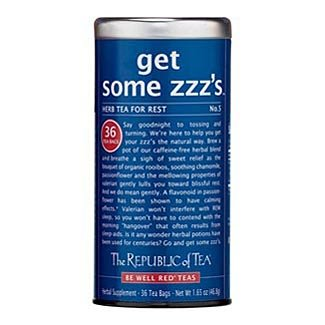 The Republic of Tea - get some zzz's, No. 5 Herb Tea for Rest, 36 Tea Bags (Pack of 6) by The Republic of Tea