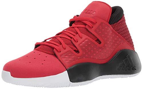 adidas Men's Pro Vision, Scarlet/Black/White, 13 M US