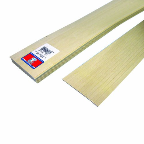 midwest-products-4451-scale-lumber-basswood-clapboard-siding-24x3x00625-inches-025-spacing