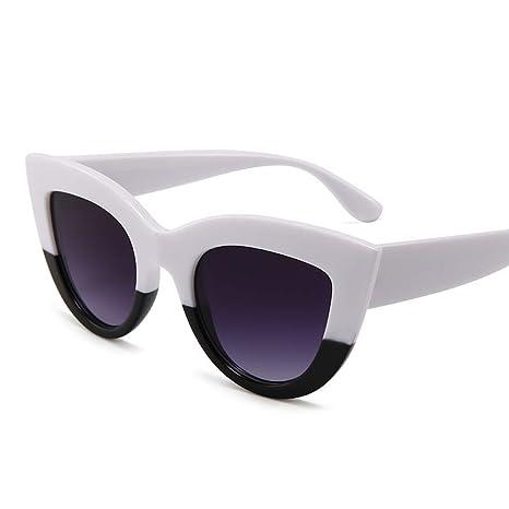 Yangjing-hl Gafas de Sol Retro Cat Eye Gafas de Sol de ...