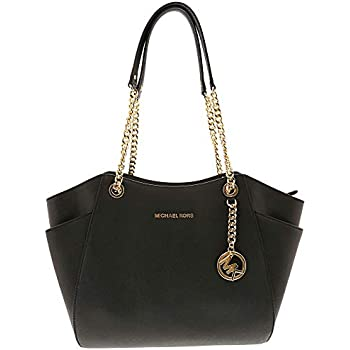 e1bee60f2aee Michael Kors Women's Jet Set Travel Saffiano Large Chain Shoulder Tote,  Style 35T5GTVT3L