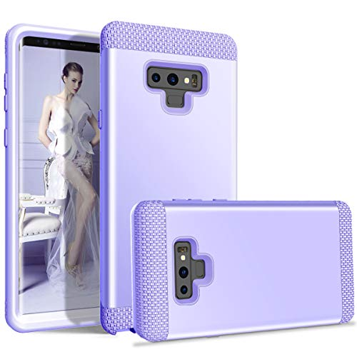 Galaxy Note 9 Case,UZER 3 in 1 Hybrid Hard PC & Soft Silicone Rugged Armor Defender Bumper High Impact Resistant Shockproof Anti Slip Full-Body Protective Case for Galaxy Note 9 2018 Release (2 In 1 Bumper Case Note 3)