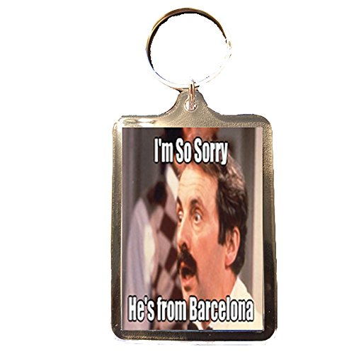 Fawlty Towers - Keyring (From Barcelona) - Barcelona Tower