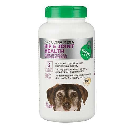 GNC Pets Ultra Mega Hip & Joint Health for Senior Dogs - Beef Flavor ()