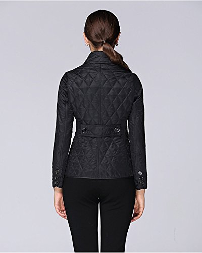 Eorish - Chaqueta - chaqueta guateada - para mujer negro
