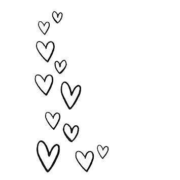 Schwarz Unbekannt Simple Stories Carpe Diem Grateful Herz Aufkleber