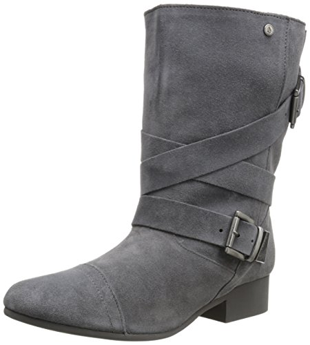 Volcom Women's Chic Flick Slouch Boot - Grey - 6.5 B(M) US