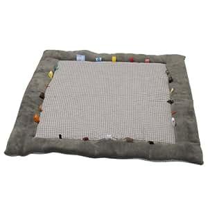 Snoozebaby 404 - Alfombra de gateo, color gris