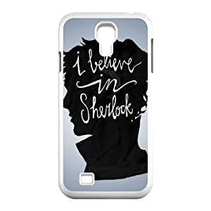 YYCASE Customized Sherlock Pattern Protective Case Cover for Samsung Galaxy S4 I9500