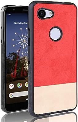 SPAK Google Pixel 3A Funda,Borde Suave de TPU + Denim Canvas PC ...