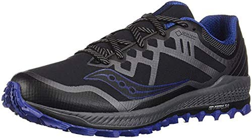 Saucony Peregrine 8 GTX, Zapatillas de Entrenamiento para Hombre, Negro (Black/Grey/Blue 001), 40.5 EU: Amazon.es: Zapatos y complementos