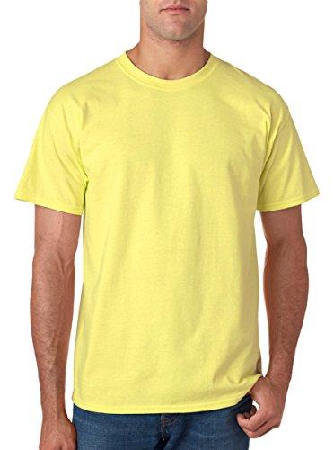 (Gildan mens Ultra Cotton 6 oz. T-Shirt(G200)-CORNSILK-3XL)