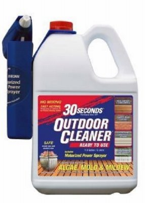 30 SECONDS Cleaners 1.3G30S MPS Power Sprayer 30 Seconds Outdoor Cleaner, 1.3 Gallon-Ready-to-Use with Motorized P (Furniture Diy Cleaner Outdoor)