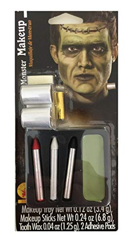 Doctor Frankenstein's Monster Halloween Costume Makeup Kit with Bolts]()