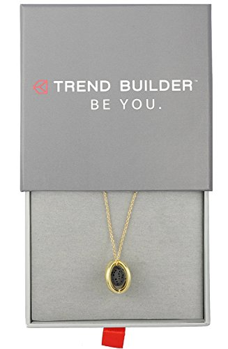 Price comparison product image NEW Sterling Silver Oil Diffuser Necklaces and Bracelets for Essential Oil Aromatherapy with Real Natural Lava Rock / Minimalist Designs / 9 DESIGNS FOR WOMEN / Gift Box Included