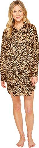 LAUREN Ralph Lauren Women's Sateen Leopard Sleepshirt Leopard - Lauren Leopard Ralph