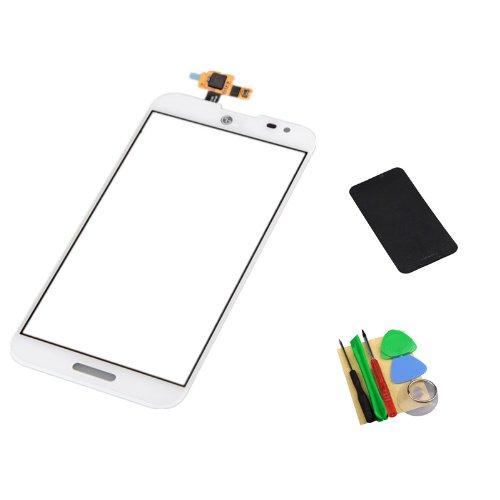 White Screen Digitizer Adhesive Optimus