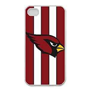 iPhone 4,4S Phone Case Sports NFL Arizona Cardinals Protective Cell Phone Cases Cover DFL616315