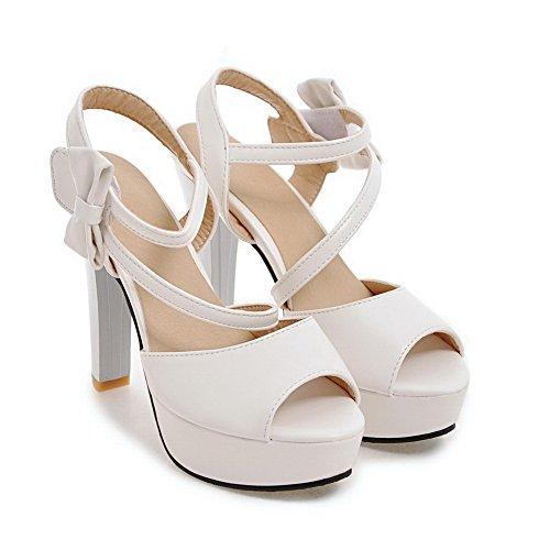 Slc04028 Ballerine white 35 Adeesu Donna Bianco HSd5Wwq