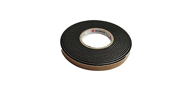 Würth - Cinta de sellado color negro Ancho BG1 - Cinta Rollo de 25 mm Longitud 6,5 m komprimirtes banda es Impacto REG endicht: Amazon.es: Bricolaje y ...