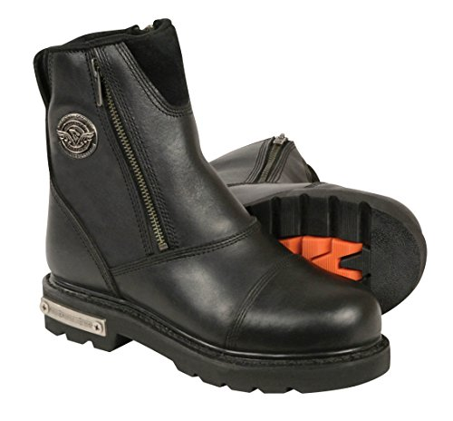 Classic Motorcycle Boots - 8