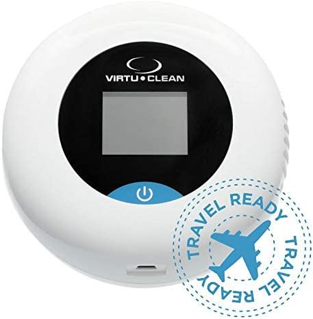 VirtuCLEAN 2.0 Portable Disinfecting Machine   Uses Activated Oxygen to Kill 99% of Germs and Bacteria on Cell Phones, Car Keys, Remotes, and More