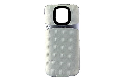 PowerSkin Spare Rechargeable Battery Case for Samsung Galaxy S5, Shimmer White