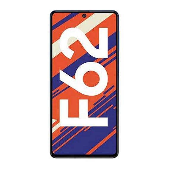 Samsung Galaxy F62 (Laser Blue, 6GB RAM, 128GB Storage)