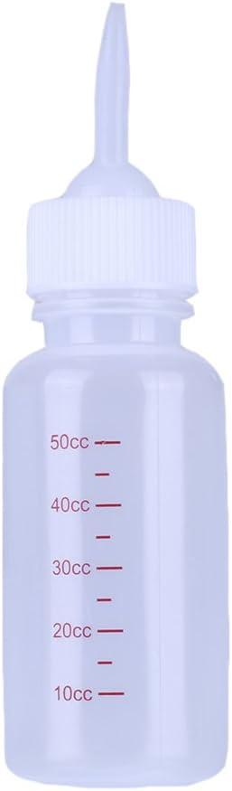 Yunt - Biberón de 50 ml. para cría de gato o perro desde el ...