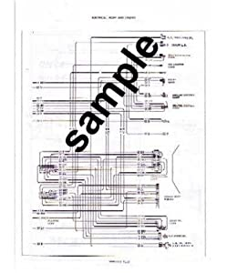 1968 Dodge Super Bee Wiring Diagram