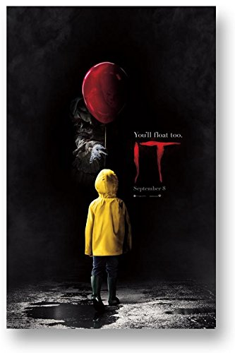 It Movie Poster Promo 2017 Stephen King Pennywise