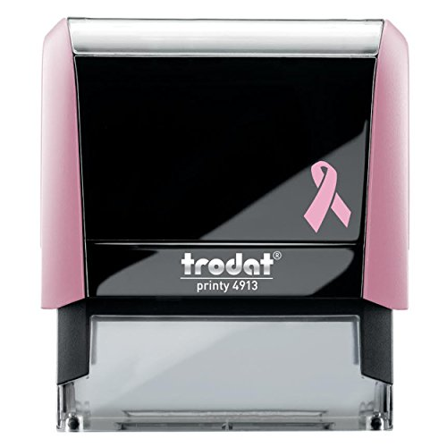 Breast Cancer Awareness Notary Stamp | 2.3x0.81 Inch Rectangular Imprints - Self Inking | Connecticut