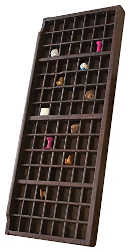 NGN1005 Brown One Size Kalalou Wooden Printers Trays