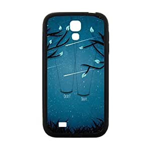 Artistic moon meteor showers and swings Cell Phone Case for Samsung Galaxy S4
