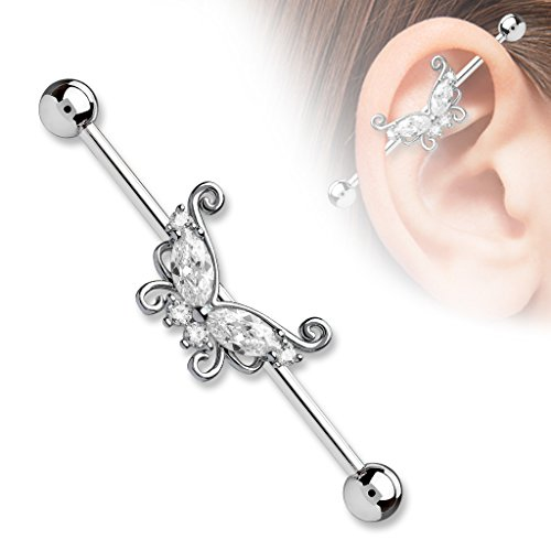 Butterfly Industrial Barbell 1-1/2