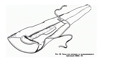 Made in USSR AKS 74 47 AKMS canvas soft case bag For Kalashnikov rifle and other 75cm by KALASHNIKOV (Image #3)