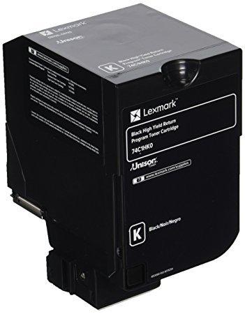 Lexmark 74C1HK0 High Yield - black - original - toner cartridge LCCP, LRP - for Lexmark CS720de, CS720dte, CS725de, CS725dte