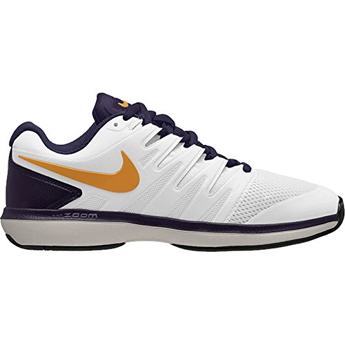 Prestige Tennis Shoes (10.5 D US, White/Orange Peel/Blackened Blue/Phantom) (White Orange Peel)