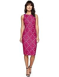 Women's Sleeveless Lace Dress