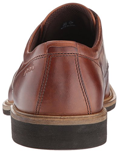 ECCO Men's Findlay Plain Toe Tie Oxford, Cognac, 42 EU / 8-8.5 US by ECCO (Image #2)