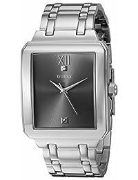 GUESS Men's U0917G2 Analog Display Quartz Silver Watch